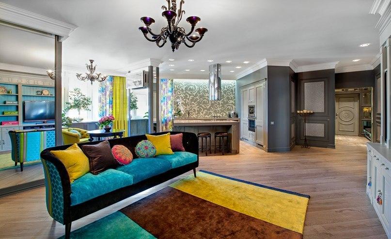 Различные стили в интерьере квартиры фото