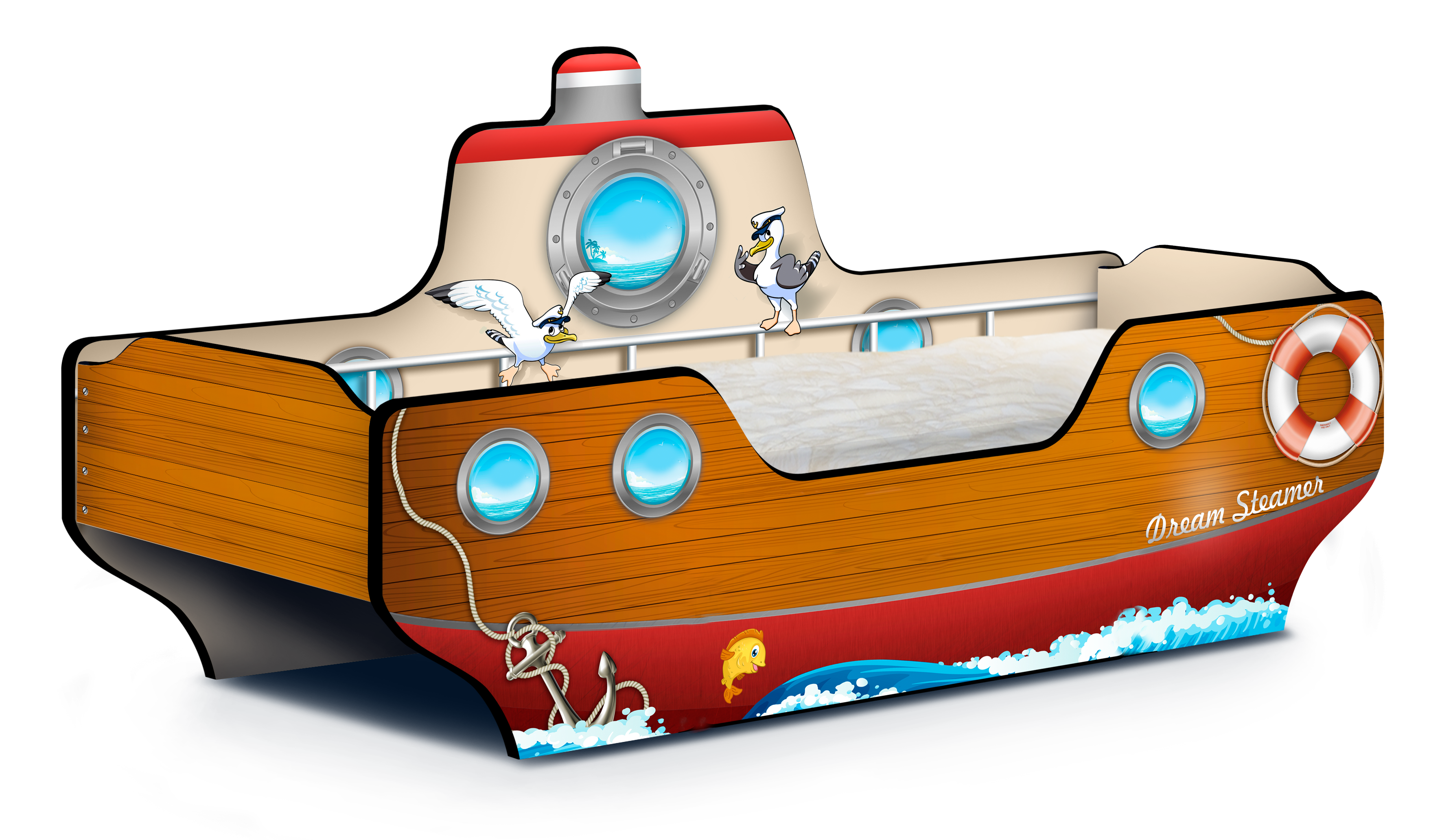 "�������-��������� ""Dream Steamer"" Carobus"